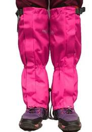 Опт Мужчины и женщины двухпалубный снежный покров дождевой снег отстой контрольный набор ноги водонепроницаемый дышащий используется для пеших прогулок черный 15 5yz J1