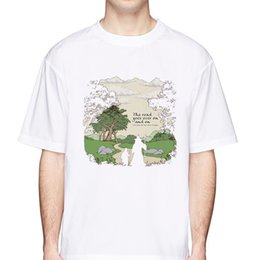 Lord rings print online shopping - lord of the rings Short Sleeve T Shirt For Men Fashion Brand Design Young male White Tshirts O neck tops MR1273