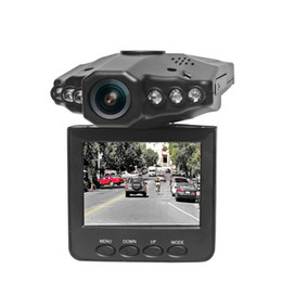 camera drop shipping UK - New H198 Car DVR camera recorder H98 6 IR LED mount and 90 degree view angle 270 degree screen rotated Drop Shipping