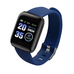 bluetooth windows smart watch 2019 - 116plus 1.3 inch color screen smart watch D13 heart rate blood pressure sleep waterproof step counter Bluetooth sports w