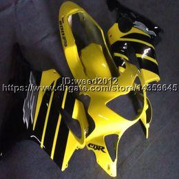 Honda F4 Yellow Australia - 23colors+Custom Injection mold black yellow motorcycle cowl for HONDA CBR600F4 1999-2000 CBR 600 F4 ABS motorcycle Fairings
