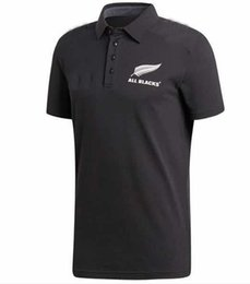 2018 Super RUGBY All Blacks Performance Home Jersey 2018 2019 New Zealand All Blacks Rugby Jersey Size S-XXXL from nylon knit fabric suppliers