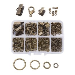 $enCountryForm.capitalKeyWord Australia - Mixed DIY Jewelry Making Findings Set Chains Components Zinc Alloy Lobster Clasps&Charms&Open Jump Rings&Iron Clip Buckles
