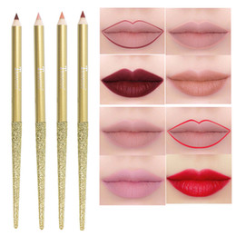 longest lasting lipsticks NZ - Matte Lip Liner Pencils Nude Waterproof Long Lasting Smooth Lipstick Lipliner Pen Makeup Lips Tools