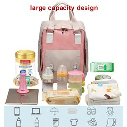 nappy wipes Australia - Mummy Nappy Bag Diaper bags Large Capacity Bag Mom Baby Multi-function Waterproof Travel Backpack Diaper bag For Baby Care