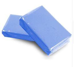 Car Detailing Clay Bar UK - Wholesale- 5pc Shine Magic Auto Blue Clay Bar for Auto Detailing Cleaner & Car Washer 100g free shipping