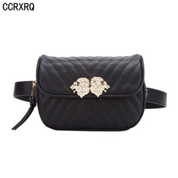 LoveLy Ladies Leather online shopping - Women Waist Bag New Fashion Brand Leather Belt Bag Lady Fanny Pack Handy Belt Pack Good Quality Leather Lovely Banana Bags