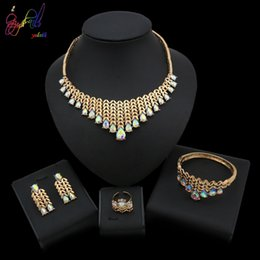 ExquisitE indian Earrings online shopping - Yulaili New Luxury Elegance Women s Romantic Jewelry Bridal Bridesmaids Exquisite Jewelry Sets For Wedding Party Occasion