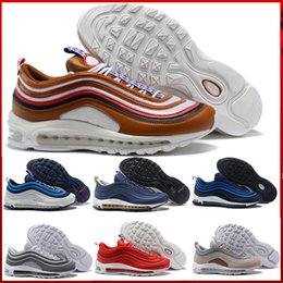 20f7eff759f7 The latest men s sports shoes 97S unique personality design casual sports  shoes black white coach training cushion breathable men s hiking s