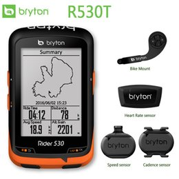 $enCountryForm.capitalKeyWord Australia - Bryton Rider 530 GPS Bicycle Bike Cycling Computer & Extension Mount ANT+ Speed Cadence Dual Sensor Heart Rate Monitor R530 #618879