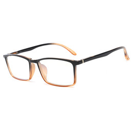 Read Top Australia - Computer mobile phone reading glasses goggles transparent glass lens unisex anti-blue glasses frame glasses top quality computer goggles