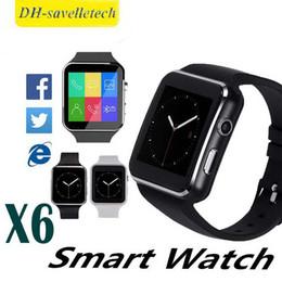 $enCountryForm.capitalKeyWord Australia - 2019 New Luxury Watch New Arrival X6 Smart Watch with Camera Touch Screen Support SIM TF Card Bluetooth Smartwatch