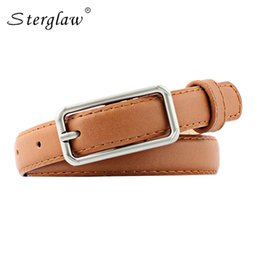 brown leather belts for women NZ - 90-110cm luxury brand Casual Women's leather belt for jeans vintage brown ide belt female dress cinturon mujer decorativo