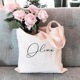 $enCountryForm.capitalKeyWord Australia - Bachelorette Party Favors Bags - Bachelorette Tote Bags Canvas Tote Bag Personalized Bag Bridesmaid custom name