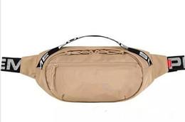 2018 diseñador bolso de la cintura 18SS 3M 44a Sup Unisex Fanny Pack Moda Cintura Hombres Mujeres Lienzo Hip-Hop Bolsas de cinturón en venta