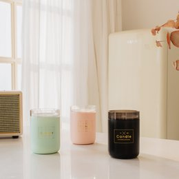 Wholesale Candle rhyme humidifier candle air purifier USB humidifier spray light luxury home decoration cross border source C1