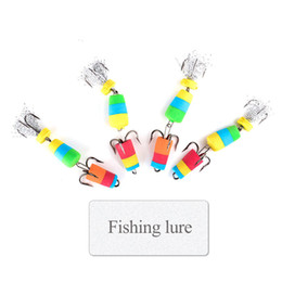 $enCountryForm.capitalKeyWord Australia - Outdoor Fishing Lure 4pcs Jig Swivel Soft Lure Insect Bait Swim Baits Wobbler Bass Lure Minnow Popper Floats Fishing Accessories