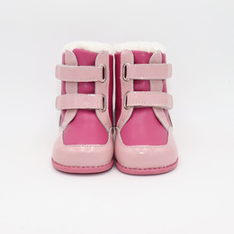 $enCountryForm.capitalKeyWord Australia - Tipsietoes 2019 New Winter Children Barefoot Shoes Leather Martin Boots Kids Snow Girls Boys Rubber Fashion Pink SneakersMX190917