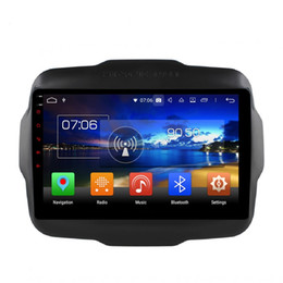 Jeep phones online shopping - Android Octa Core din quot Car DVD Radio GPS Multimedia Head Unit for Jeep Renegade GB RAM Bluetooth WIFI Mirror link