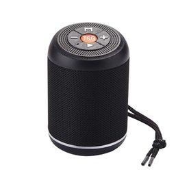 $enCountryForm.capitalKeyWord Australia - Bluetooth Speaker with Hanging Line TG517 Cloth Art subwoofer Support Audio Input TF Card USB Portable Wireless Bluetooth Mini Sound Box