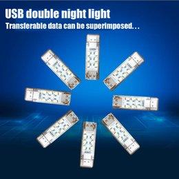 $enCountryForm.capitalKeyWord NZ - Free shipping LED 5V USB Night Light Portable Mini Gift Emergency Reading Light FOR: Notebook Desktop Mobile Power USB Interface Device