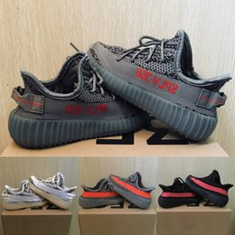 Cute Baby Kids Kanye West V2 Calzado de running para niños Zapatillas deportivas Zebra Beluga 2.0 Boy Girl Sports Sneakers Toddler Trainer