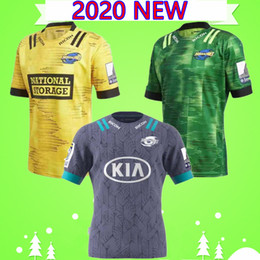 Wholesale big new jersey for sale - Group buy Big size S XL New Zealand Super Rugby Jersey Highlanders home away Jersey Hurricanes training wear Rugby Jerseys Hurricane MENS