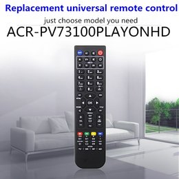 Universal Ac Remote Control Australia - High quality cheap price black color Replacement universal remote control for AC RYAN ACR-PV73100PLAYONHD