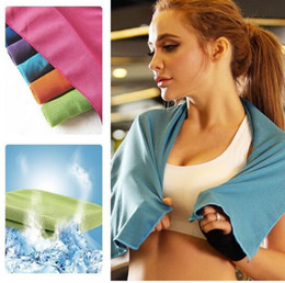$enCountryForm.capitalKeyWord NZ - Sports Ice Towel Instant Cooling Fast Drying For Travel Swimming Camping Sports Outdoor Fitness Exercise Towel