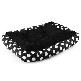 b mat 2020 - Luminous Puppy Pets Dog Cat Bed House Super Warm Soft Dog Nest Mat Cushion Kennel Pet Products Animal House B-005-WD che