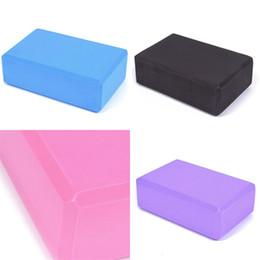 Yoga foam block online shopping - Yoga Block Brick Foam Sport Tools Top Quality EVA Home Exercise High Density Fitness Supplies Mix Colour dm V