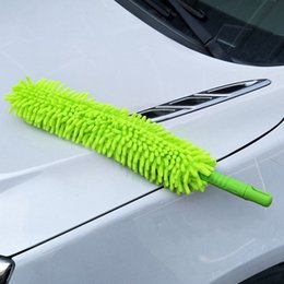 $enCountryForm.capitalKeyWord Australia - Flexible Extra Long Soft Microfiber Chenille Car Wheel Wash Brush Microfiber Wheel Cleaner Car Wash Accessorie