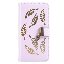 leaving cards Australia - For Google Pixel 3A Flip Cover Stand Wallet PU Leather Case For Google Pixel 3A XL With Card Slots Hollow Out Gold Leaves
