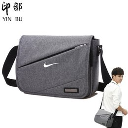 briefcase school 2019 - New Crossbody Bags Shoulder Bags Men School Crossbody Travel Briefcase Korean Chest bag women mini bag bandolera hombre