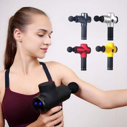 professional tools equipment UK - Professional Tool Muscle Massage Tool Electric Muscle Relaxer Fitness Deep Vibration Relaxation Gym Equipment