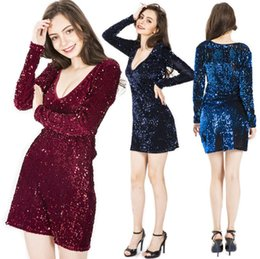 $enCountryForm.capitalKeyWord Australia - Sexy Prom Dresses Sparkly Sequined Charming Party Evening Designer Dress Special Occasion Bodycon Dresses Free Shipping