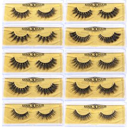$enCountryForm.capitalKeyWord NZ - 2019 3D mink hair false eyelashes 39 models handmade three-dimensional multi-layer eyelashes false eyelashes MB-A black color thick curled