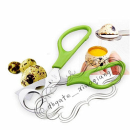 eggs cutter Australia - Kitchen Tool Quail Egg shells Scissors Cracker Opener Cigar Cutter Stainless Steel Blade Tool Household Tool Scissors
