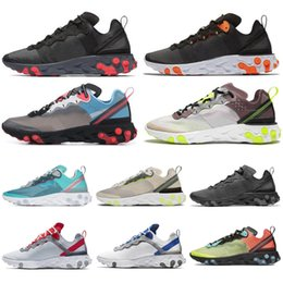 $enCountryForm.capitalKeyWord Australia - React Element 87 55 SE Taped Seams Running Shoes for Men Women Royal Tint Green Mist Anthracite black Mens Trainer Sports Sneakers 36-45