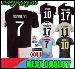 54fc7a503 2019 2020 RONALDO Juventus soccer jersey football shirt MANDZUKIC Camiseta 18  19 20 DYBALA HIGUAIN men women kids maillot de foot
