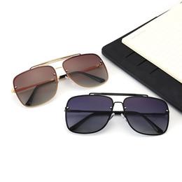 Best Glasses For Sun Australia - 1pcs Best quality Glass lens 50MM Leopard Frame Metal hinge Brand Designer Fashion Plank Men Women Sunglasses Sport Sun glasses For box