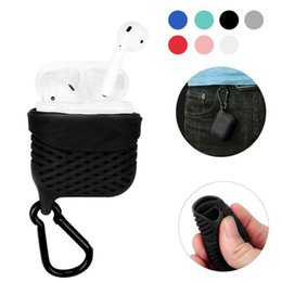 pouch for headphones NZ - Waterproof Airpod Protective Cases For Airpods Silicone Covers Protector Cover Sleeve Pouch for Air Pods Bluetooth Headphones Earphones Case