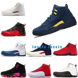 $enCountryForm.capitalKeyWord Australia - basketball shoes 12s mens shoe gamma blue taxi Playoff Flu Game Bulls Cllege navy Michigan Doernbecher University Blue sport sneakers 7-13