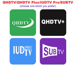 android live tv box UK - 3 6 12 Months QHDTV program Live VOD for Enigma android tv box QHDTV SUBTV IUDTV Pro