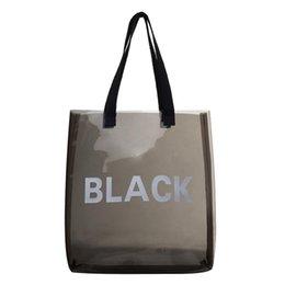 $enCountryForm.capitalKeyWord Australia - Transparent Jelly Bags PVC Shopping Totes Women Shoulder Bag Beach Travel Handbags Sac A Dos Bolsas Feminina Mujer Sac A Main