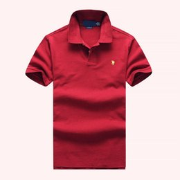 $enCountryForm.capitalKeyWord Australia - 19ss mens Ralph t shirt Lauren fashion designer luxury tshirt ralph polo shirts men casual popos high quality comfortable cotton shirt 1:1