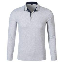 $enCountryForm.capitalKeyWord Australia - 2017 Men Polo Hombre Shirt Mens Fashion Collar shirts Long Sleeve Casual Camisetas Masculinas Plus Size S-XXXL Polos Sweatshirt