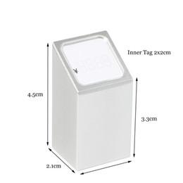 $enCountryForm.capitalKeyWord Australia - Jewelry Price Tag Display Rack Number Cubes Figure Number Stand Desk Sign Holder Table Shelf Talker Metal Block Frame Aluminium Label Holder