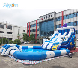 $enCountryForm.capitalKeyWord Australia - Giant Longer Inflatable Water Park Beach Slides with Big Pool for Sale