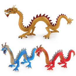 dancing stars shoes Australia - Hot Selling China Myth Dragon Model Solid Dragon Dragon Dance Model Anime Garage Kit Model Ornaments